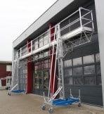 X-lift; werkbrug